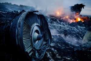 BESTPIX - Air Malaysia Passenger Jet Crashes In Eastern Ukraine