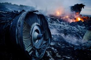 BESTPIX - Air Malaysia Passenger Jet Crashes In Eastern Ukraine
